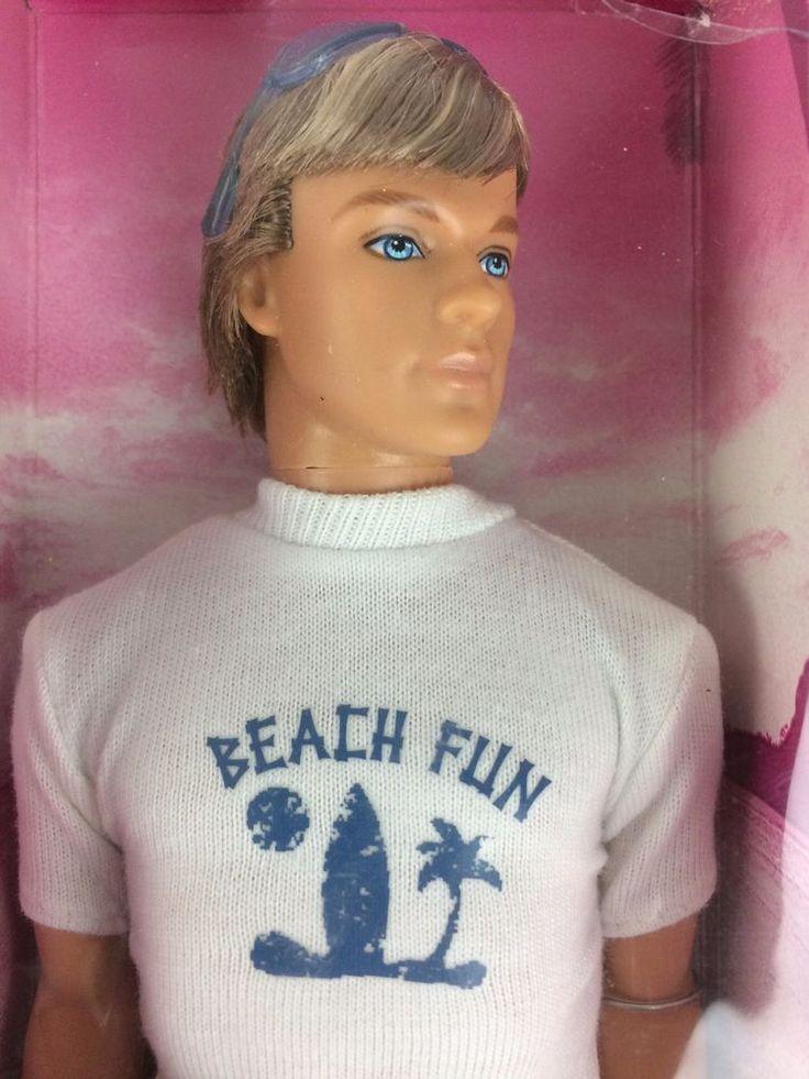 Barbie Beach Fun Ken Doll 2005 Blonde SEALED NRFB New Look Fiesta Tropical #Mattel #DollswithClothingAccessories
