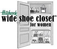 Hitchcock - Wide Shoes for Men - Mens Wide Shoes, Extra Wide Shoes, EEEE, Orthopedic Shoes