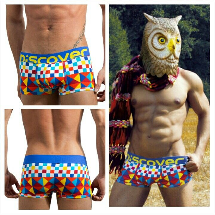Discover owl  mini boxer #90699 Coming July 3, 2014 at  www.esexymale.com