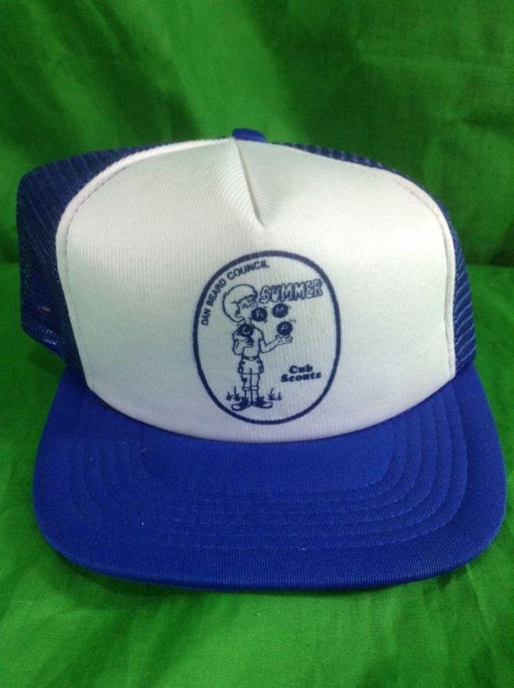 Dan Beard Council Hat Vintage Cub Scout Snapback Trucker Cap #SizeAJust #Trucker