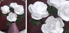 Styrofoam Flowers Tutorial