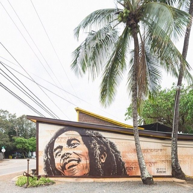 "Repost: @powwowhawaii ""New mural by @cryptk for #powwowhawaii and @brandedarts. Photo by @bshigeta. @rvca @montanacans @flexfit @hawaiianairlines"" #CryptikMovement   Flickr - Photo Sharing!"