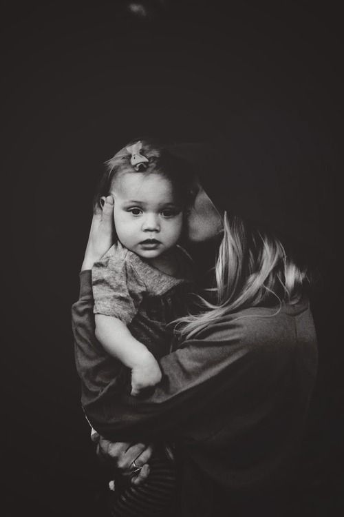 child & mother