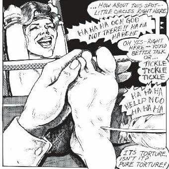 Tickle torture bdsm