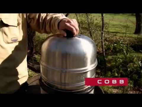 The Amazing Cobb Premier BBQ Grill and Cooking System - YouTube