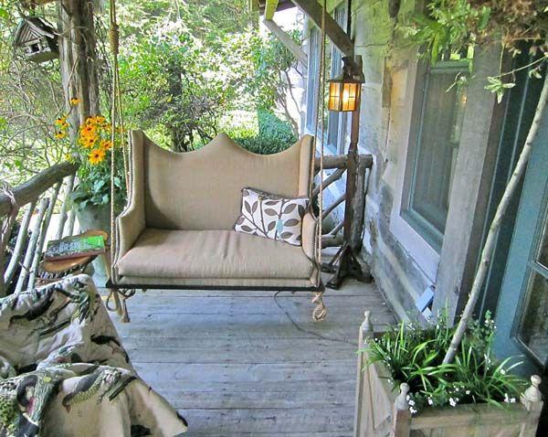 A Rustic Front Porch  front-porch-design-ideas