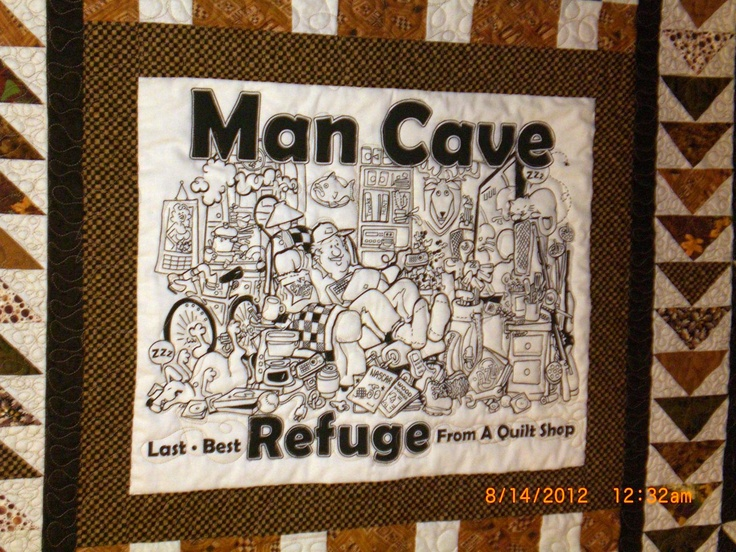 Man Cave Quilt Pattern : Best images about man cave quilts on pinterest caves
