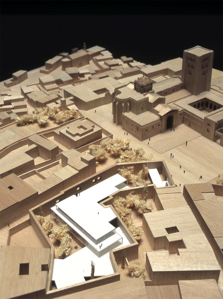 Image 35 of 44 from gallery of Zamora Offices / Alberto Campo Baeza. Model