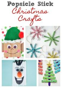 Mother Of My Tribe - Popsicle Stick Christmas Crafts - Mother Of My Tribe