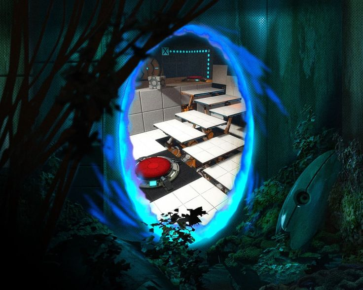 portal portal (game) portal 2 valve video game video games wallpaper