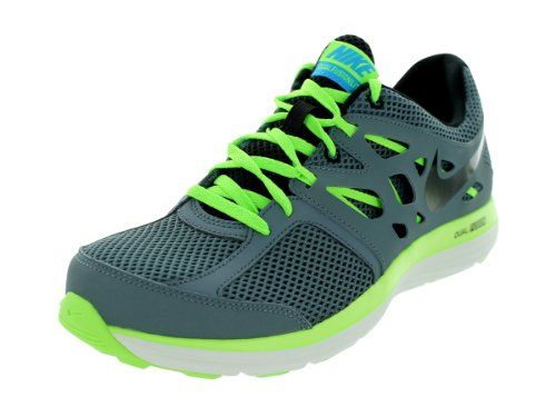 Nike Men's Dual Fusion Lite Armory Slate/Blk/Flsh Lm/Bl Hr Running