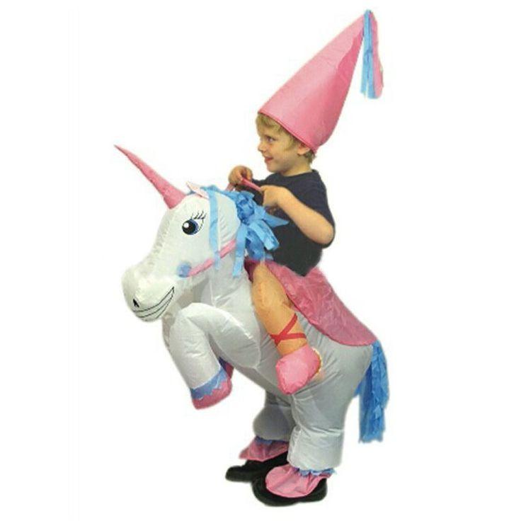 Halloween Costume For Kids Children Unicorn Inflatable Costume Funny Carnival Costumes Children's Day Purim Halloween for Kids