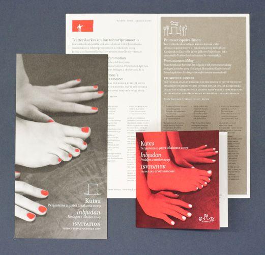 Hahmo | Graphic Design | Teatterikorkeakoulu | Theatre Academy Helsinki