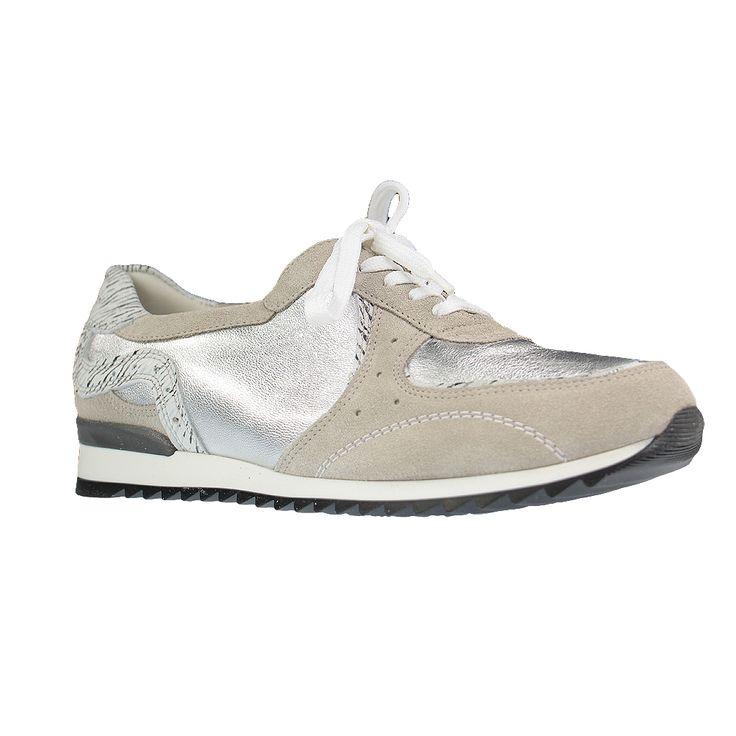 WALDLÄUFER - Hurly - Damen Halbschuhe - Grau Schuhe in Übergrößen Größe 42, 43, 44, 45, 46