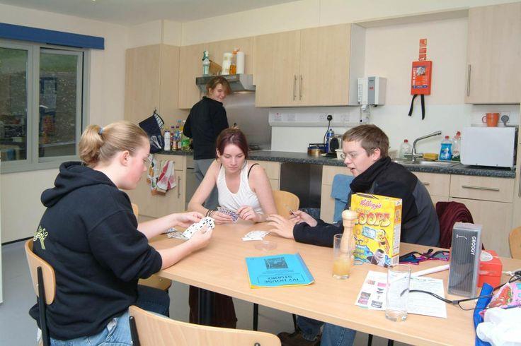 Flat Kitchen, Glasney Student Village