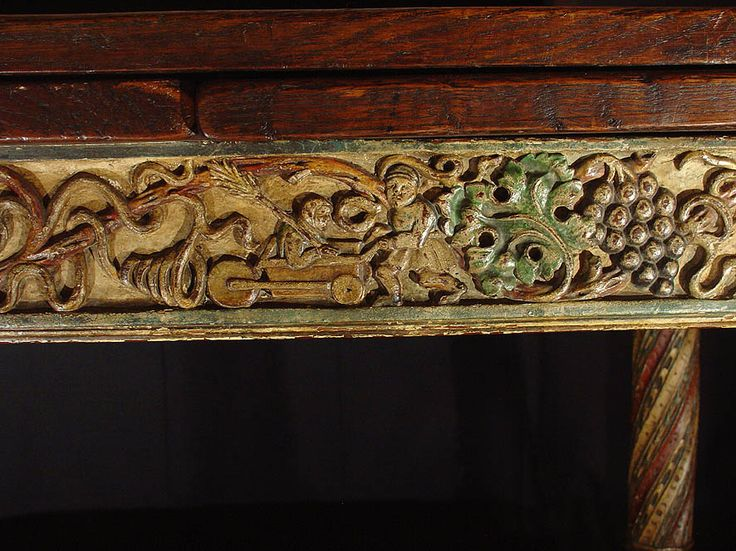 Table Louis XIII Bourgogne, Antiques Provence, Proantic