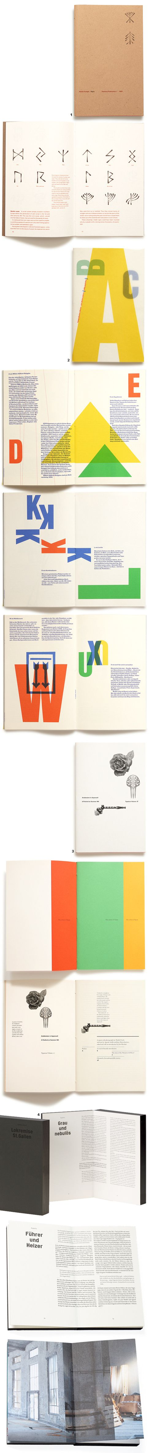 Great art books from swiss printer, Typotron ! 1/ Signs AUTHOR Adrian Frutiger…