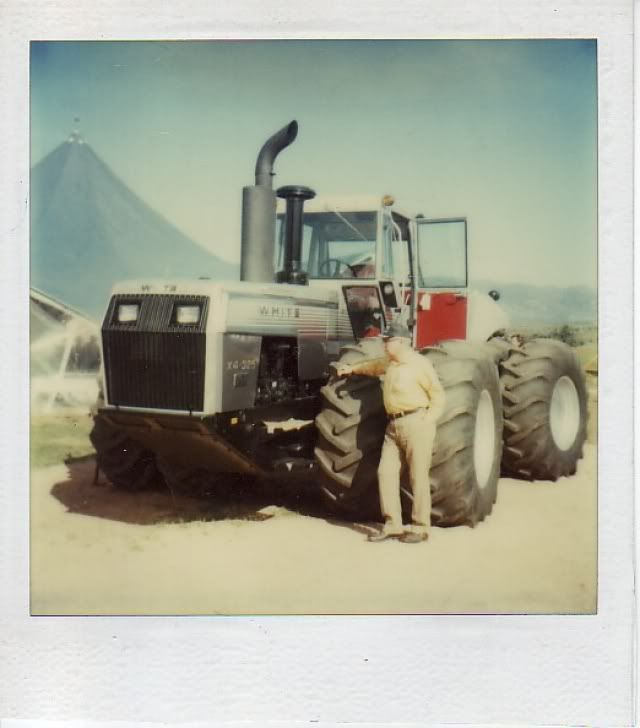 Experimental White 4-225 with Cumm... - Yesterday's Tractors