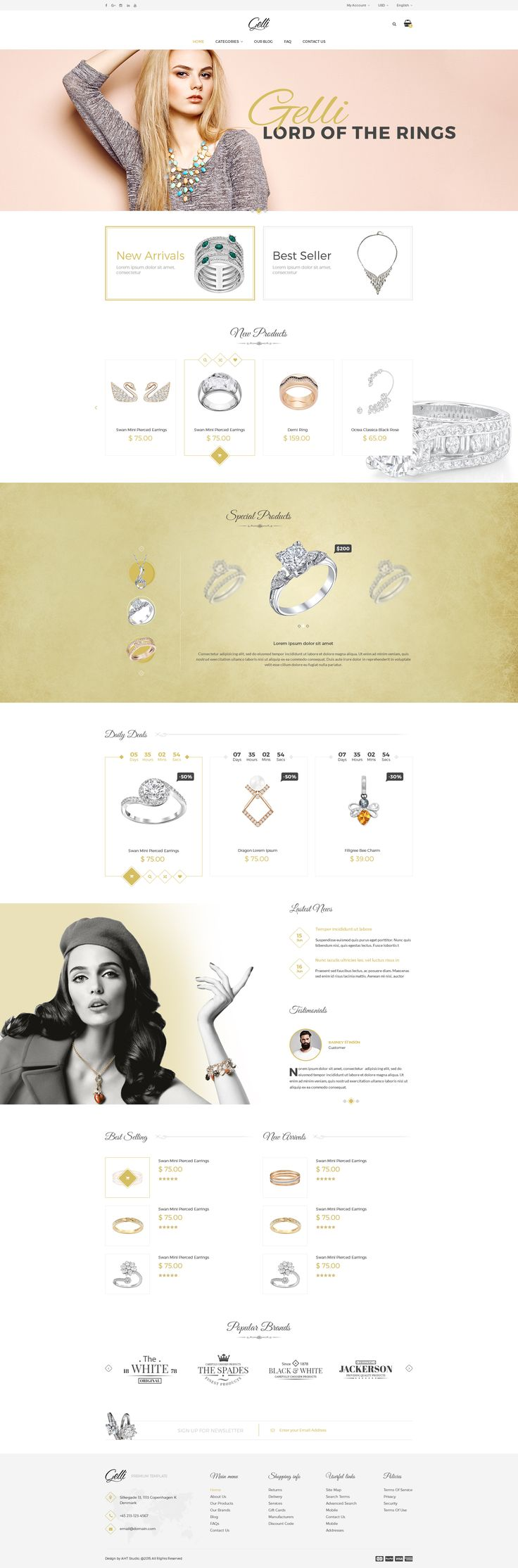 Gelli - PSD Template For Jewelry / Perfume / Accessories Online Shop • Download ➝ https://themeforest.net/item/gelli-psd-template-for-jewelry-perfume-accessories-online-shop/15560906?ref=pxcr