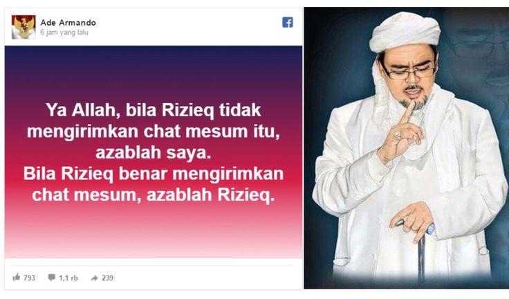 Nyatakan Siap Diazab Ade Armando Terima Tantangan Mubahalah Habib Rizieq http://news.beritaislamterbaru.org/2017/06/nyatakan-siap-diazab-ade-armando-terima.html