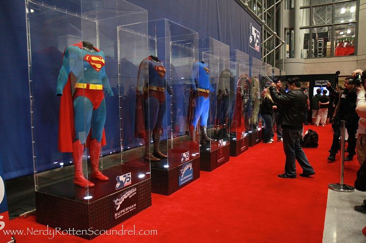 Where to buy mannequin for Superman Costume as seen in Comic Con 75th Anniversary