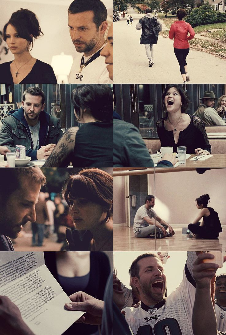 Silver Linings Playbook; Tiffany and Pat, crazy love. #favorite