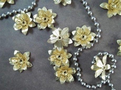 Gold Dimensional Metal Filigree Embellishments (#7313-G)– ButterBeeScraps.com
