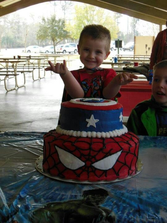 Sam S Club Spiderman Cake