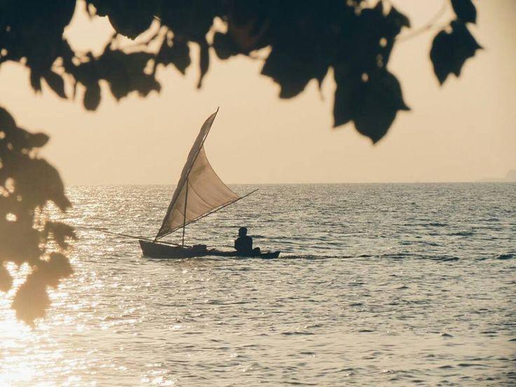 Jagongane Paimin karo Dalijo sing nembe kenalan:  P: Jenengmu sopo kang? D: Rama min. P: Lengkape sopo? D: Ramaido Sopo Wonge Sing Ora Kangen  @xailuax - The old man and the sea. (Duh hemingway banget). . Karimunjawa 2012.  #ayokekarimunjawa #visitjepara #jatenggayeng #indonesia_photography #instanusantara