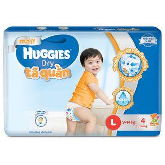 Mua ngay (Quà tặng không bán)Tã quần Huggies Dry Super Jumbo L4 chính hãng giá tốt tại Lazada.vn. Mua hàng online giá rẻ, bảo hành chính hãng, giao hàng tận nơi, thanh toán khi giao hàng!