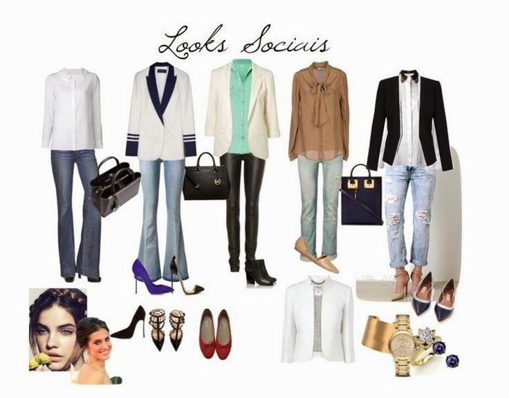 Eclectic Fashion Style: Looks sociais by Carolline Azevedo