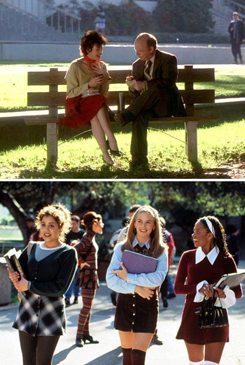 Clueless. So many life lessons from this movie. Like always take a lap at a party before committing to a location. great movie.