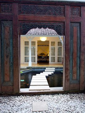 This Antique Carved Door from Java (Indonesia) makes a beautiful entry . & 20 best Balinese doors images on Pinterest   Bali style Front ... Pezcame.Com