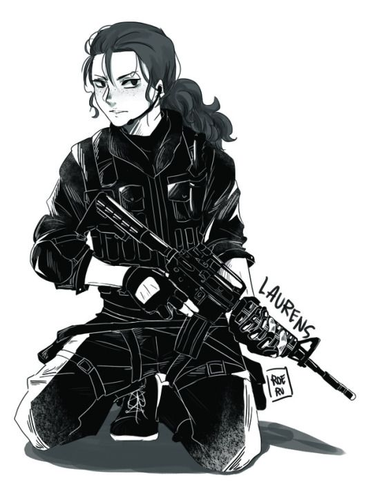 Before I read the name, I thought it was Bucky! XD The problems of being in way too many fandoms.