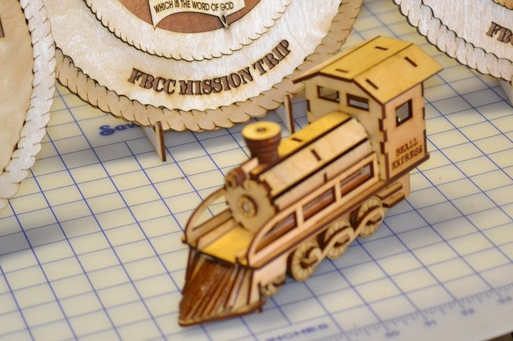 Laser Cut train from 1/8 Birch Wood | Laser it | Pinterest ...