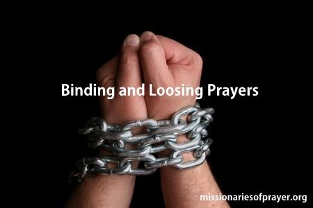 Binding and Loosing Prayers. Do you know what it is? We'll show you how to use the keys to the Kingdom and exercise your spiritual authority http://www.missionariesofprayer.org/2016/05/binding-and-loosing-the-keys-to-the-kingdom-and-exercising-your-spiritual-authority/