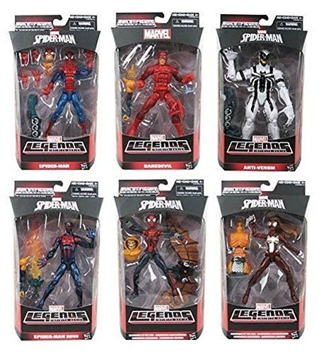 Marvel Legends Infinite Series Spiderman Wave 2 Hobgoblin Build A Figure Complete Set BAF * Check out this great product.