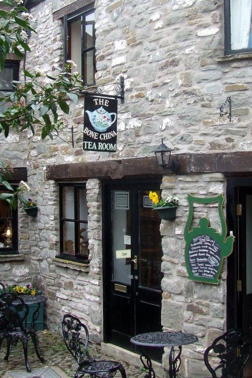 Tea:  The Bone China Tea Room, Hay-on-Wye, Powys, Wales.
