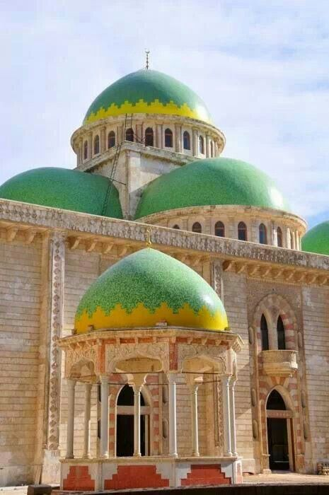 Masjid of Aleppo - :::: PINTEREST.COM christiancross :::  Syria