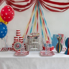cute circus theme decorations