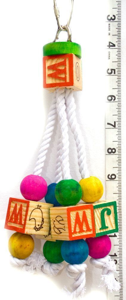 Image result for how to make bird toys for parrots #parrotfooddiy