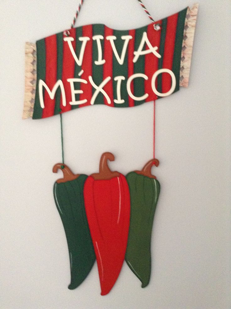 Foamy Viva Mexico Banner Inspiration * No instructions available
