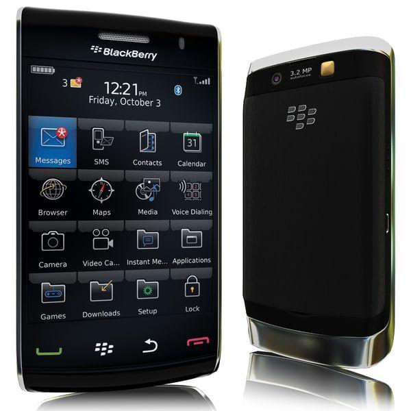 Blackberry 9550 3D Model - 3D Model
