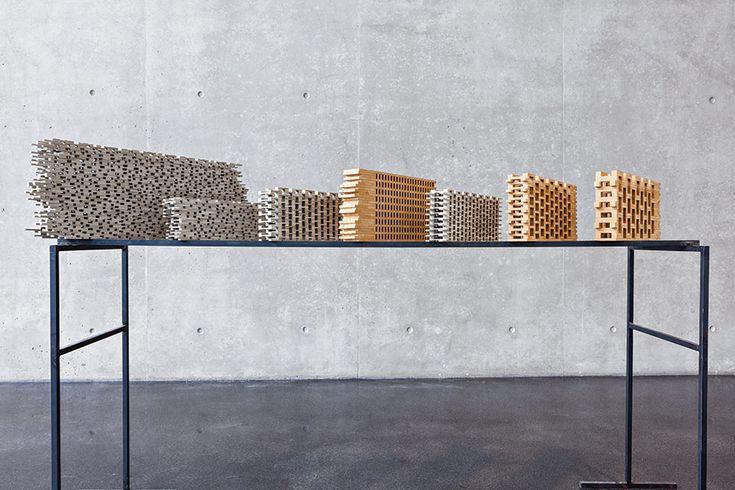 Peter Zumthor – Study models for Kolumba Museum