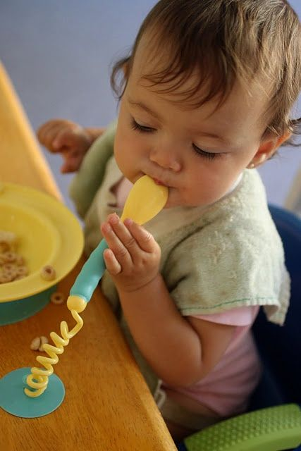 Amazing!!! You know that game where your baby throws their spoon on the ground and you pick it up and the baby does it again and laughs at your face? No more! The stay put bowl and cutlery set is awesome! - in-the-corner