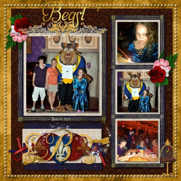 Best images about beauty the beast layouts on