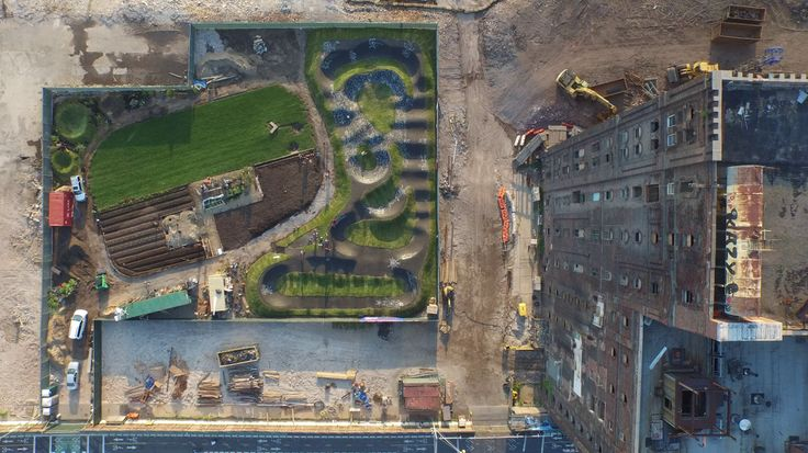 Domino Sugar Factory and  The Farm on Kent - http://bestdronestobuy.com/domino-sugar-factory-and-the-farm-on-kent/