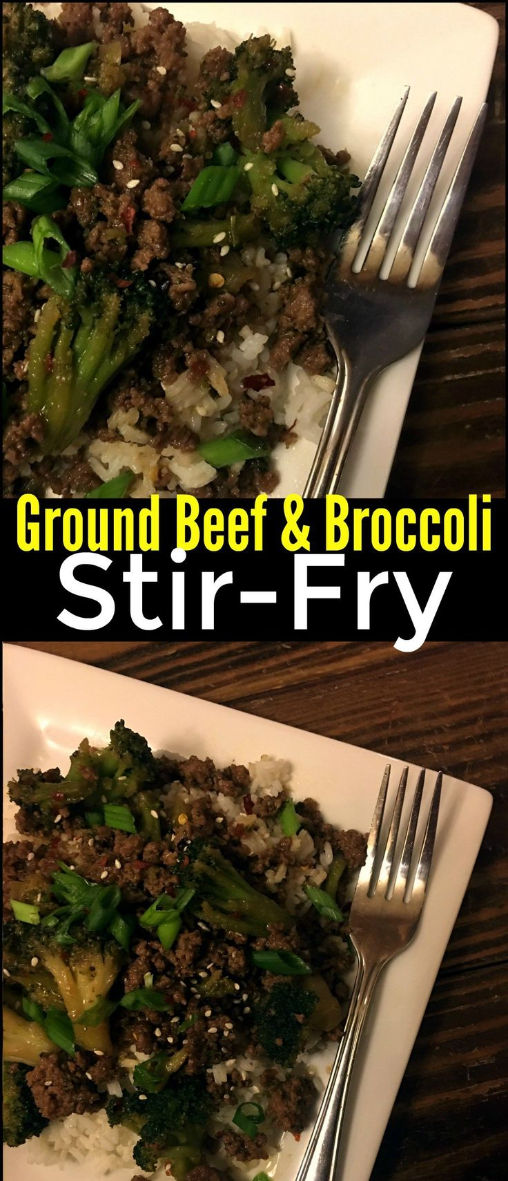 Ground Beef & Broccoli Stir Fry DEFINITELY DONT USE 1/2 cup brown sugar it's too sweet only use like 1/4 cup brown sugar and keep the recipe the same
