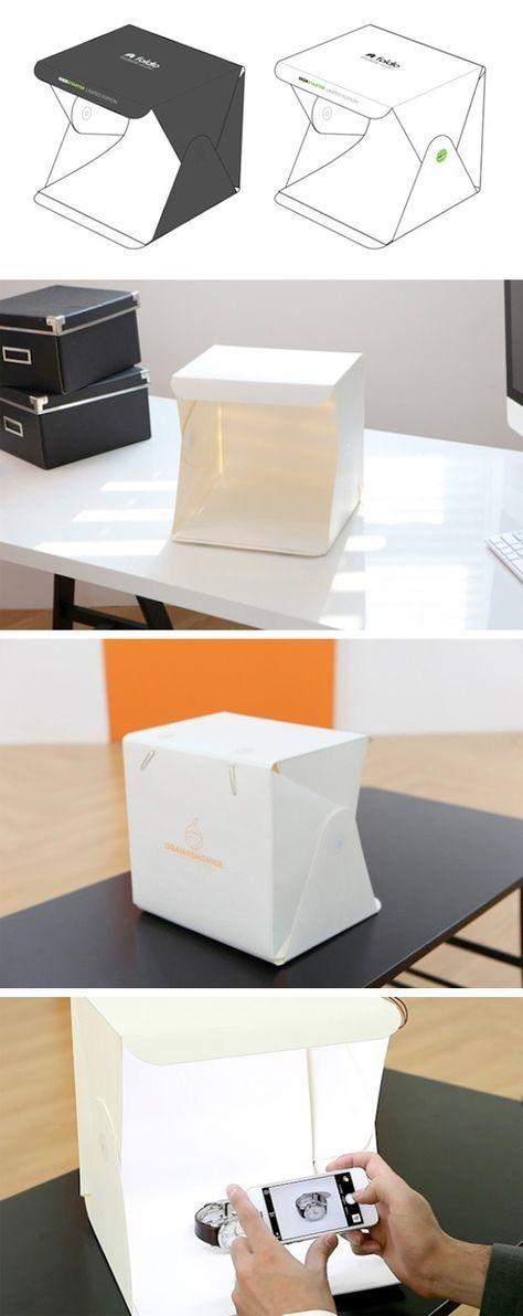 Portable photography studio | Foldio