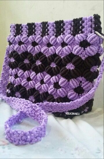 #purple #handmade #bags